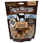 SmartBones® Mini Chews Dog Treat - Peanut Butter