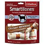 SmartBones® Medium Chew Dog Treat - Chicken