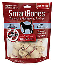 SmartBones® Mini Chews Dog Treat - Chicken