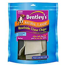 Dentley's® Natural Flavor Medium Rawhide Dog Treat
