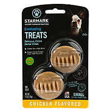 Starmark Everlasting Treats Dog Toy Treat Insert - Chicken Flavor