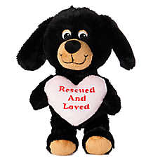 """Luv-A-Pet™ """"Rescued and Loved"""" Squeaker Dog Toy"""