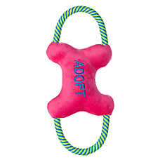 "Luv-A-Pet™ ""Adopt"" Squeaker Dog Toy"