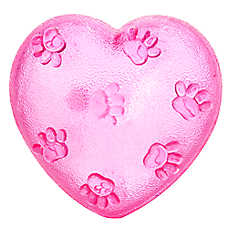 Luv-A-Pet™ Heart Squeaker Dog Toy
