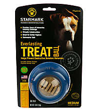 Starmark Everlasting Treat Ball Dog Toy - Chicken Flavor