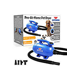 XPOWER B-2 2 Speed Pro-At-Home Pet Dryer, Vacuum 2 HP