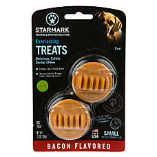 Starmark Everlasting Treats Dog Toy Treat Insert - Bacon Flavor