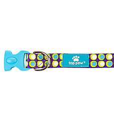 Top Paw® Sublimated Groovy Dot Adjustable Dog Collar