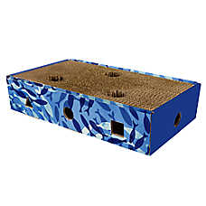 Grreat Choice® Corrugated Scratch-N-Maze Cat Scratcher