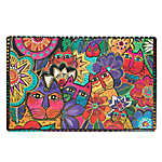 Laurel Burch Carlotta Cat Placemat