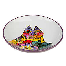 Laurel Burch Carlotta Cat Saucer