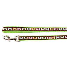 Top Paw® Casey Polka Dot Bone Dog Leash