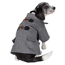 Pet Life Military Wool Coat