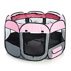 Pet Life Lightweight Travel Playpen