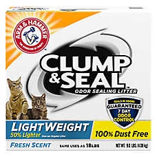 ARM & HAMMER™Clump & Seal LightWeight Cat Litter - Clumping
