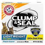 ARM & HAMMER™Clump & Seal LightWeight Cat Litter - Clumping