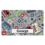 Drymate Cool Cat Personalized Placemat