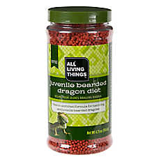All Living Things® Juvenile Bearded Dragon Dry Pellets