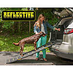 Pet Gear Travel Light Bi-Fold Reflective Pet Ramp