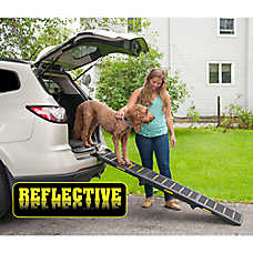 Pet Gear Travel Light Tri-Fold Reflective Pet Ramp