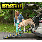 Pet Gear Tri-Fold, Extra Wide Reflective Pet Ramp
