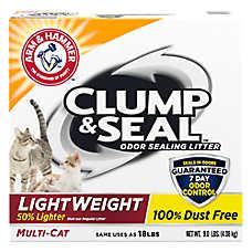ARM & HAMMER™Clump & Seal LightWeight Cat Litter - Clumping, Multi-Cat