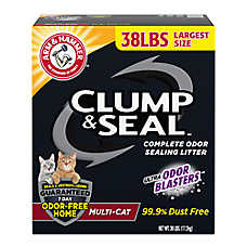 ARM & HAMMER™Clump & Seal Cat Litter - Clumping, Multi-Cat