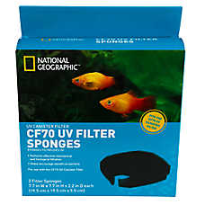 National Geogrpahic™ CF70 UV Filter Sponges