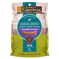 Simply Nourish™ Natural Chicken Mini Dental Chew Dog Treat
