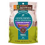 Simply Nourish™ Natural Chicken Small Dental Chew Dog Treat