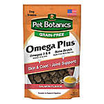 Pet Botanics® Omega Treats Dog Treat - Grain Free, Natural, Salmon