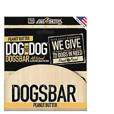 Dog for Dog Dogsbar 12-Pack Natural Peanut Butter Dog Treat