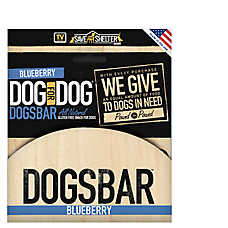Dog for Dog Dogsbar 12-Pack Natural Blueberry Dog Treat