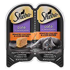 Sheba® Perfect Portions Chicken & Liver Pate Cat Food