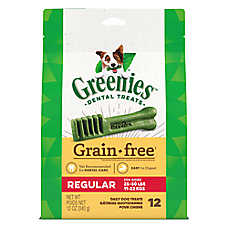 GREENIES® Grain Free Regular Dental Dog Treat