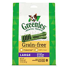 GREENIES® Grain Free Large Dental Dog Treat