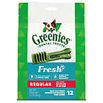 GREENIES® Regular Dental Dog Treat - Fresh