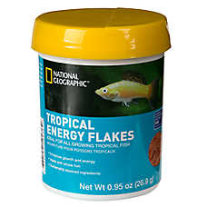 National Geographic™ Tropical Energy Fish Food