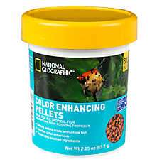 National Geographic™ Color Enhancing Pellets Fish Food
