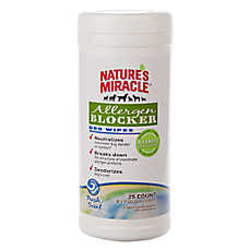 NATURE'S MIRACLE™ Allergen Blocker Dog Wipes