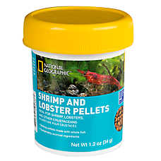 National Geographic™ Shrimp and Lobster Pellets Fish Food