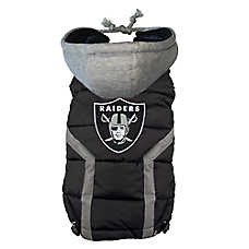 Oakland Raiders NFL Puffer Vest