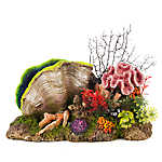 National Geographic™ Coral Bubbler Aquarium Ornament