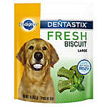 PEDIGREE® DENTASTIX® Fresh Biscuit Large Breed Dental Dog Treat