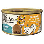 Muse® Adult Cat Food - Grain Free, Essential Nutrients, Natural Chicken