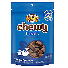 NUTRO® Blueberry Flavor Chewy Dog Treats