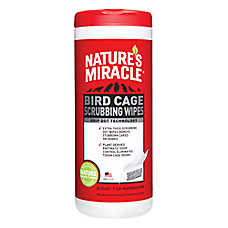 NATURE'S MIRACLE™ Bird Cage Scrubbing Wipes