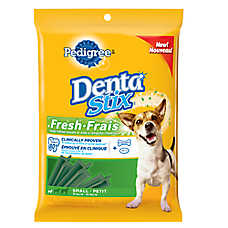PEDIGREE® DENTASTIX® Fresh Small Dog Sticks