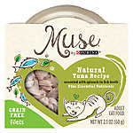 Muse® Adult Cat Food - Grain Free, Essential Nutrients, Natural Tuna & Spinach, In Broth