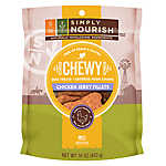Simply Nourish™ Grain Free Gluten Free Chewy Chicken Jerky Fillets Dog Treat